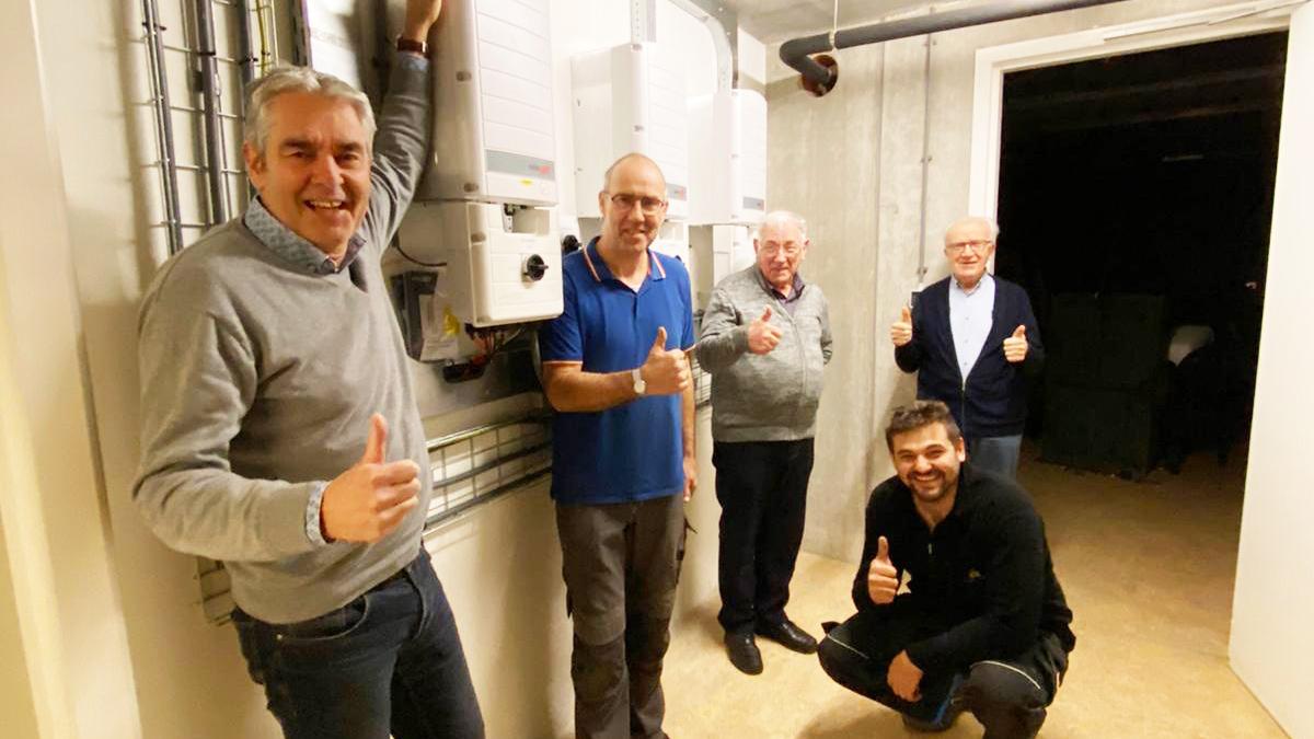 PV installatie Verdeelkast Zonnestroom Systeem Project 1