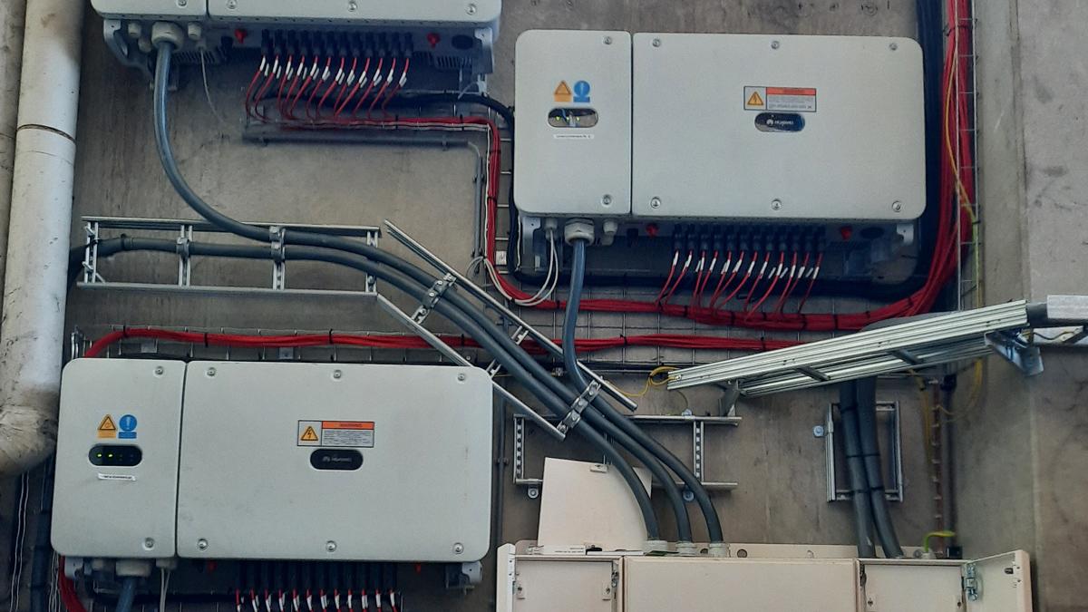 PV installatie verdeelkasten zonnepanelen oplevering 3