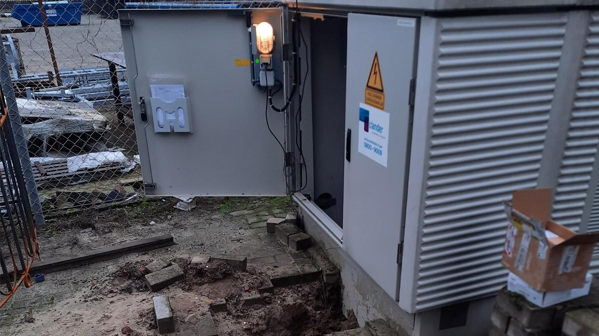 PV installatie verdeelkasten zonnepanelen oplevering 2